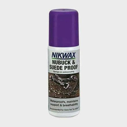 Nikwax Nubuck and Suede Waterproofing for Footwear Spray 125ml
